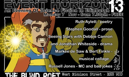 Event Horizon 13 – Monday 7th November 2016
