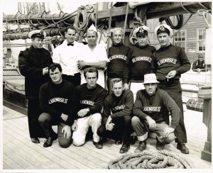 Alex Hartling on the crew of the Bluenose II.