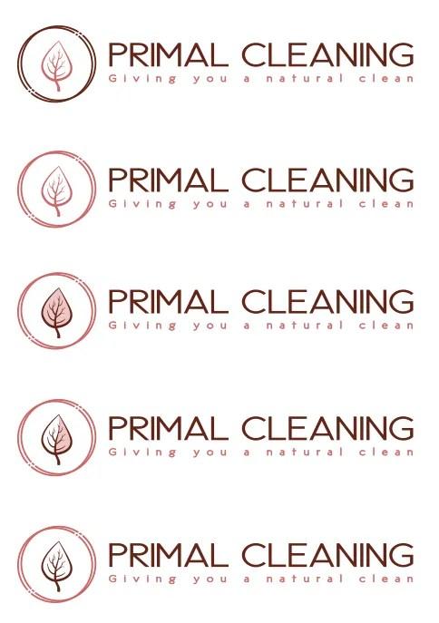 Primal Cleaning Logos
