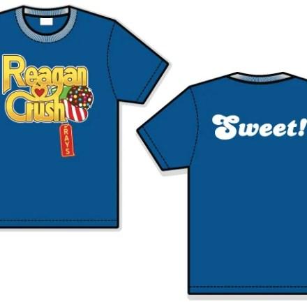 Reagan Crush T-Shirt Design