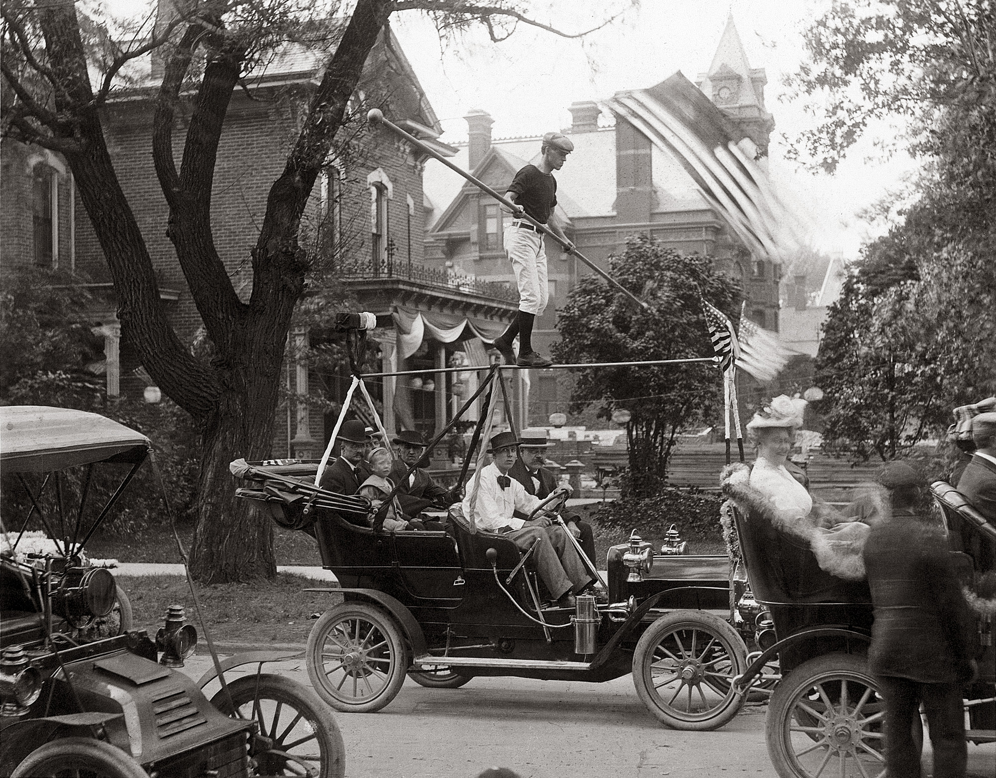 Shorpy Historical Picture Archive Parade In Port Huron