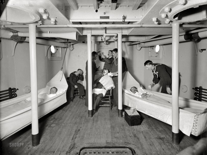 Sick Bay: 1898