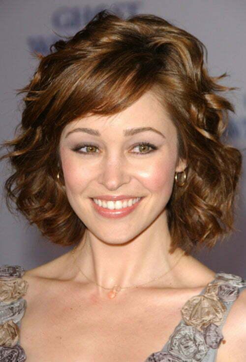 Autumn Reeser Short Wavy Hair