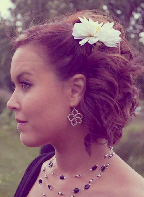 Updo Hairstyles For Short Hair Cool Hairstyles