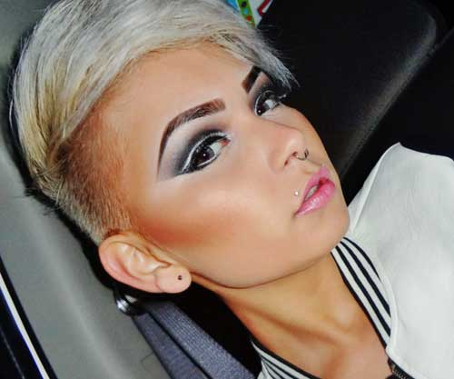 Short Hairstyles Pictures For Round Faces Page 1