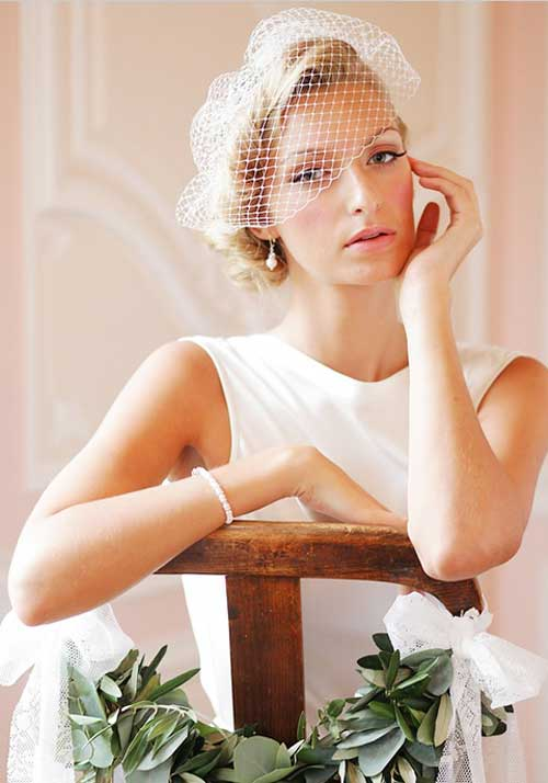 Wedding Hairstyles Ideas For Short Hair Short Hairstyles
