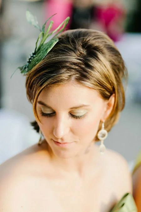 Short Hairstyles For Weddings Short Hairstyles 2017
