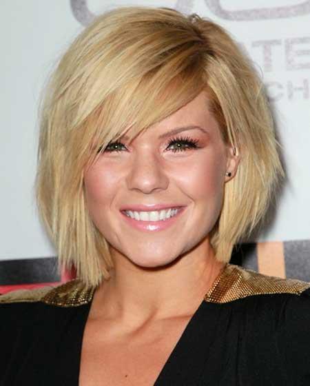 Kimberly Caldwell bob hairstyle