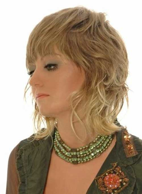 Best Medium Length Hairstyle with Bangs