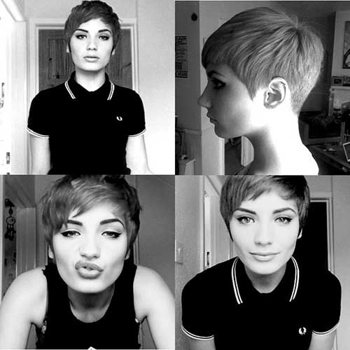 New Pixie Haircuts For Girls Short Hairstyles 2017