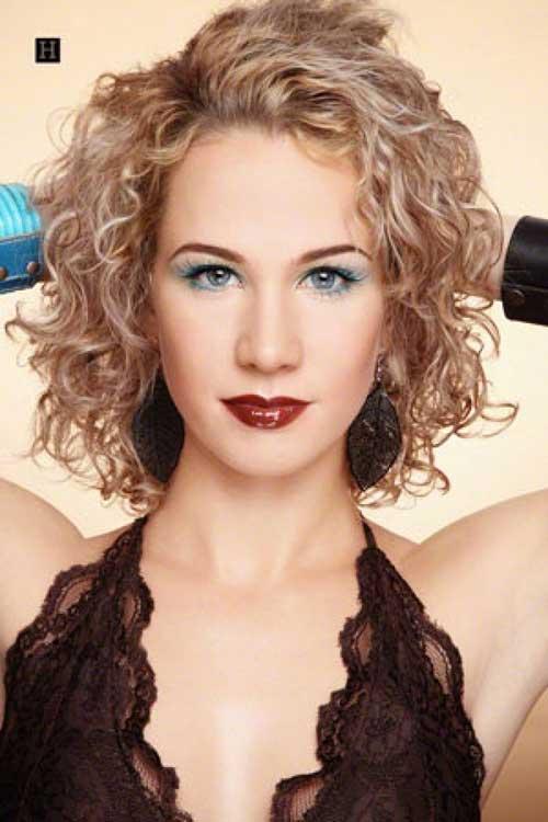 15 Curly Perms For Short Hair Crazyforus