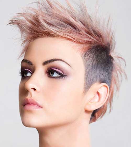 Spiky Short Punk Haircut