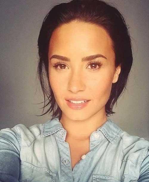 Demi Lovato Pixie