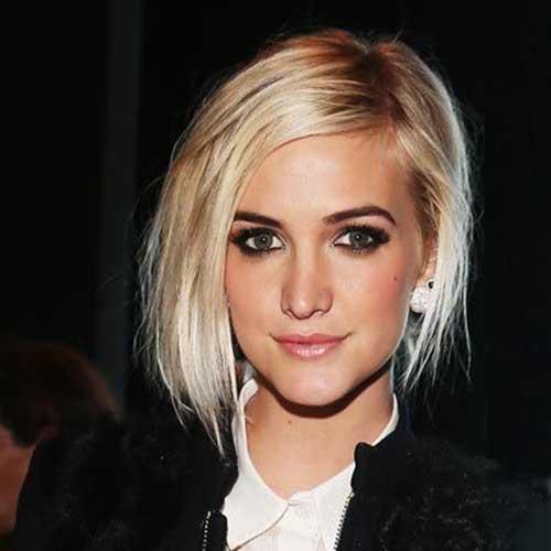 Ashlee Simpson Short Hair