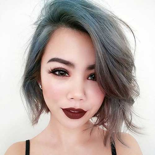 Image Result For Asymmetrical Bobs