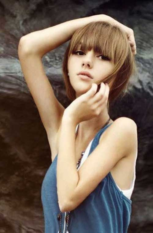 10 Light Brown Bob Hairstyles Short Hair Colors