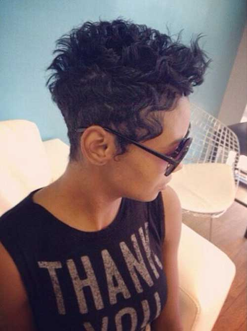 15 Pixie Cuts For Curly Hair Short Hairstyles 2018