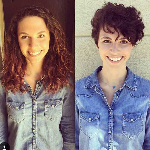 15 Pixie Cuts For Curly Hair Short Hairstyles 2017