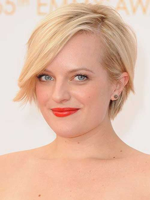 Elisabeth Moss with Short Hair