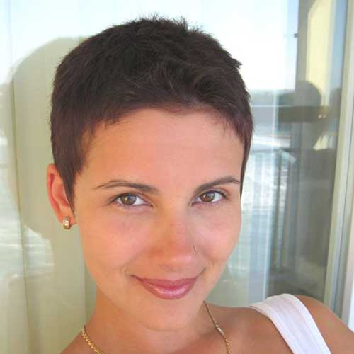 Short Pixie Hairstyle