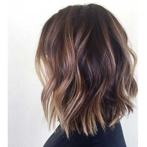 Ladies Beloved Brunette Bob Hairstyles Short Hairstyles