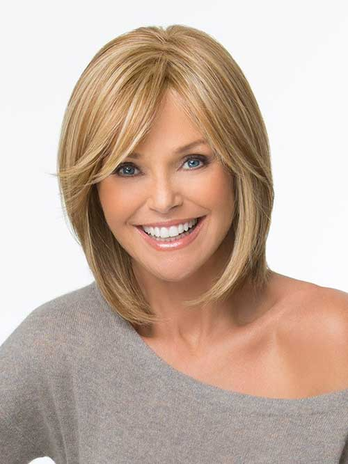 short bob hairstyles with side