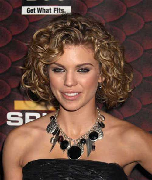 Image Result For Top Flawless Short Curly Hairstyles For Round Faces