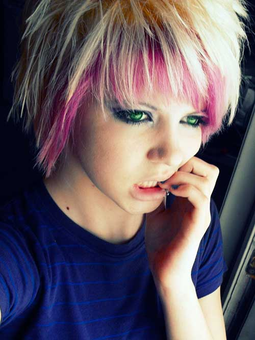 10 Emo Pixie Cuts Short Hairstyles 2017 2018 Most