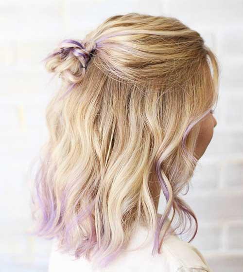 Short Blonde Hair 2017 - 19