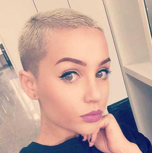 10 Super Short Hair Ideas On Pretty Ladies Crazyforus