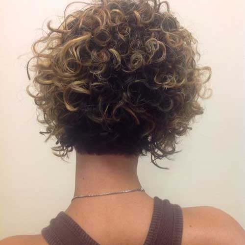 20 Cute And Pretty Curly Short Hairstyles Crazyforus
