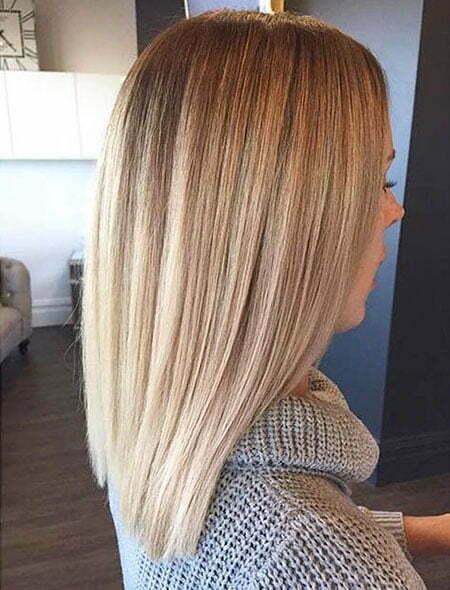25 Short Straight Blonde Hairstyles 2017 2018 Short