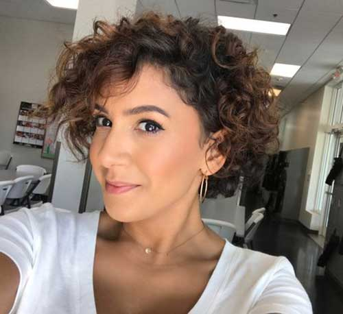 20 Latest Short Curly Hairstyles Crazyforus