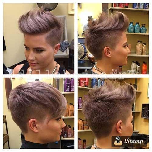 Short Hair Side Cut