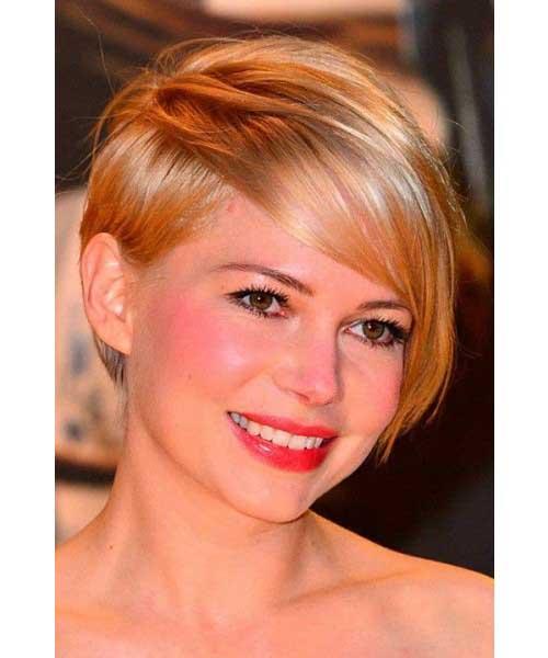 Michelle Williams Cute Short Haircut