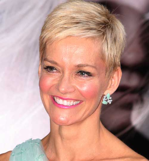 Jessica Rowe Short Hairstyle for Fine Hair