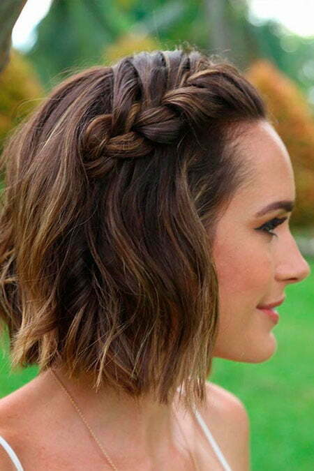 Cute and Easy Hairtyles for Short Hair, Hairtyles Hair Easy Braided