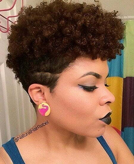 20 Short Natural Haircuts for Black Women