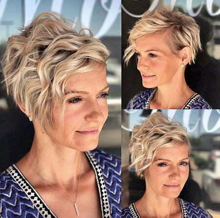 20 sassy short hairstyles for wavy hair  crazyforus
