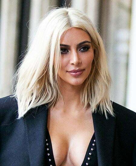 Hair Blonde Kardashian Kim