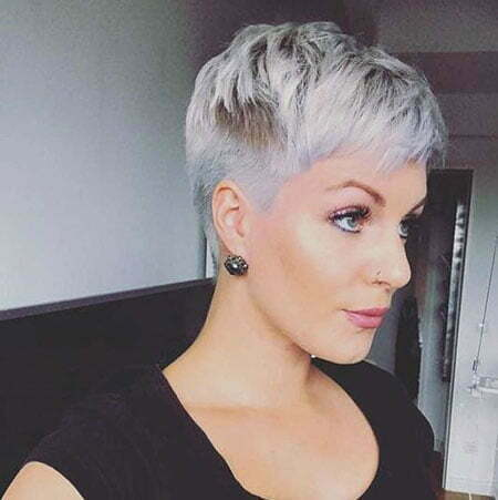 Pixie Short Messy Cut