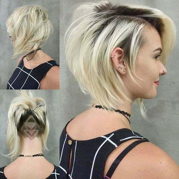 Haircuts Girls Sides Cut
