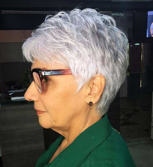 20 Short Haircuts for Older Women - crazyforus