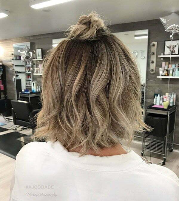 25 Elegant Short Hair Bun Ideas