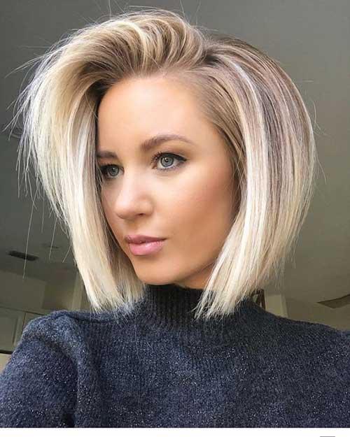 Best Short Fine Hairstyles Women 2019
