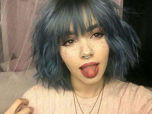 40 Popular Short Blue Hair Ideas In 2019 Fashion News
