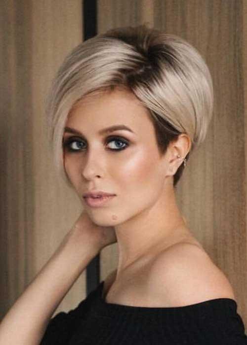 Simple Short Hairstyles For Pretty Women Crazyforus