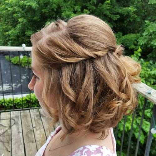 Simple Hair Styles for Short Hair