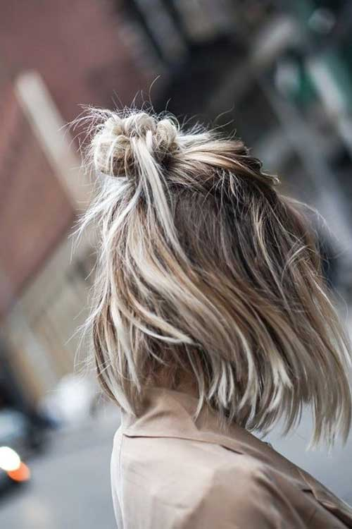 Simple Updos for Short Hair