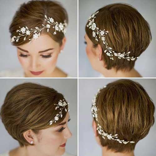 Wedding Hairstyles for Short Hair-12